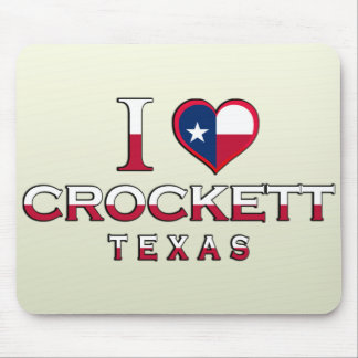 Crockett, Texas Mouse Pad
