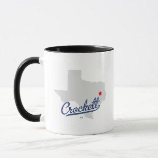 Crockett Texas TX Shirt Mug