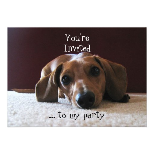 crockettsperfectpic, You'reInvited, ... to my p... Personalized Invitations