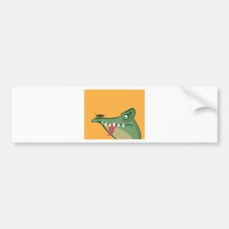 CrockFrog Bumper Sticker