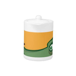 CrockFrog Teapot