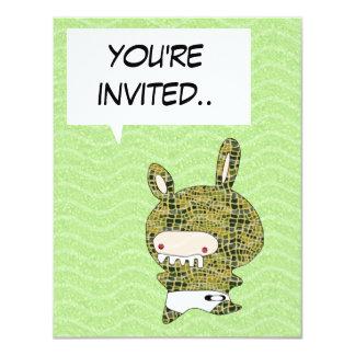 crockobunny invitation