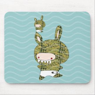 crockobunny mouse pads