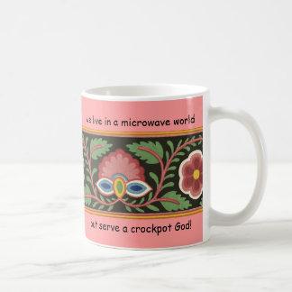 """""""Crockpot God!"""" Coffee Mug"""