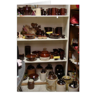 Crocks, Pots, and More Greeting Cards