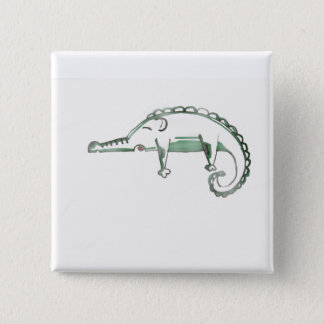 croco Philip badge Pinback Button