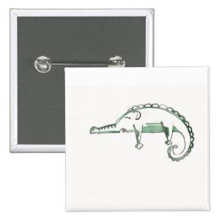 croco Philip badge Pinback Button