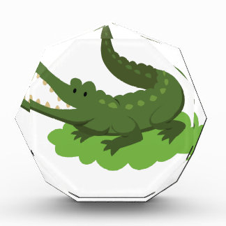 crocodile acrylic award