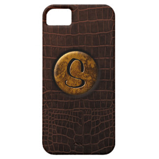 Crocodile and Monogram iPhone 5 Cases