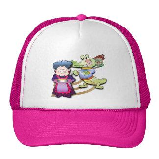Crocodile and Pie Mesh Hat