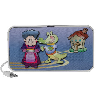 Crocodile and Pie Portable Speaker