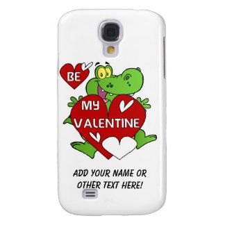 Crocodile Be My Valentine Samsung Galaxy S4 Case