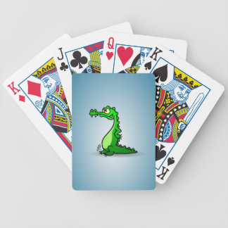 Crocodile Bicycle Playing Cards