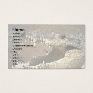 Crocodile Business Card