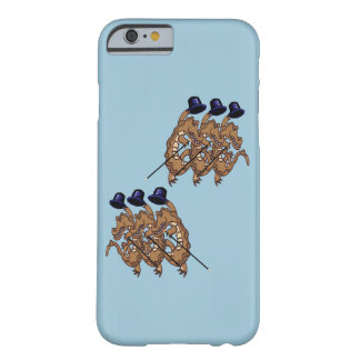 Crocodile chorus line barely there iPhone 6 case