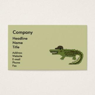 Crocodile Cool Business Card