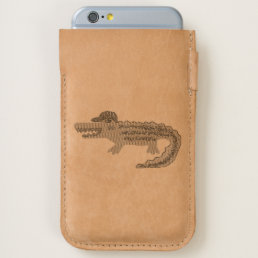 Crocodile Cool iPhone 6/6S Case