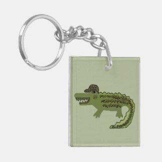 Crocodile Cool Keychain