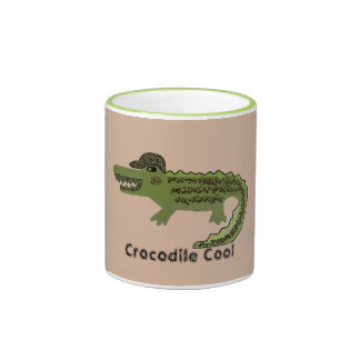Crocodile Cool Ringer Coffee Mug