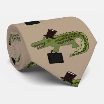 Crocodile Cool Tie