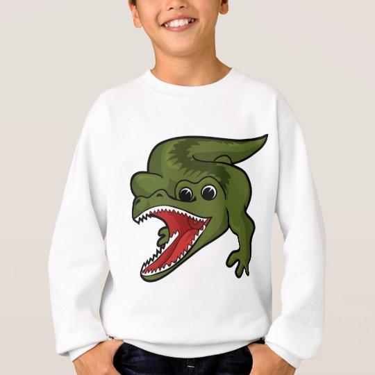 Crocodile Design Sweatshirt