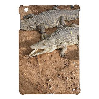 Crocodile expectation iPad mini cover
