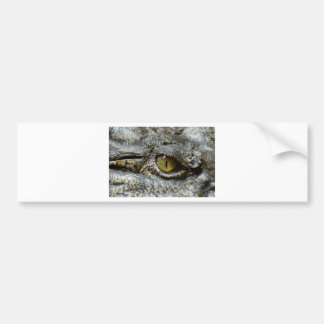 crocodile eye face animal custom personalize diy bumper sticker