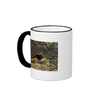 Crocodile Eye Ringer Coffee Mug
