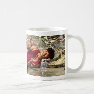Crocodile Frolics Classic White Coffee Mug