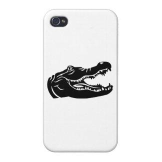 Crocodile head cover for iPhone 4