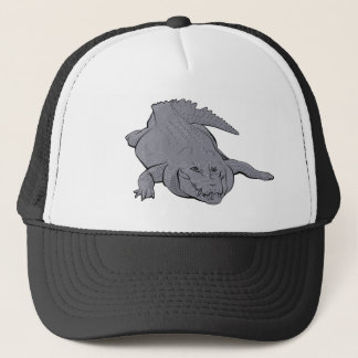Crocodile Illustration Hat