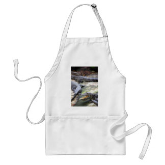 Crocodile jaws wide open adult apron