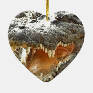 Crocodile.jpg Ceramic Ornament