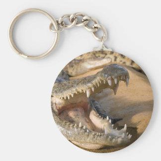 crocodile keychain