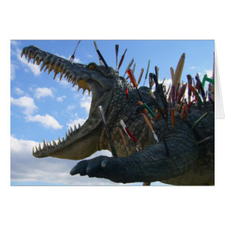 crocodile meal card