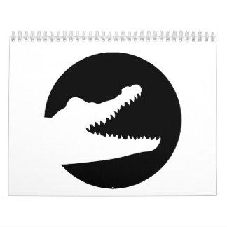 Crocodile moon calendar