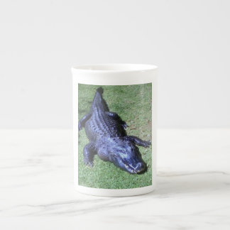 crocodile nile tea cup