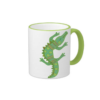 Crocodile Ringer Coffee Mug