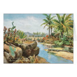 Crocodile River, South Africa Greeting Card