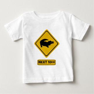 crocodile road sign tee shirts