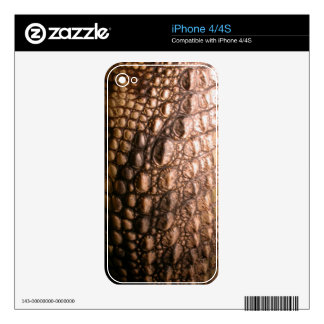 Crocodile Scales Wildlife iPhone 4 Skin