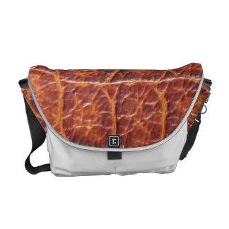 Crocodile Skin Courier Bags