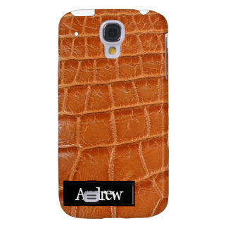 Crocodile Skin iPhone3G Galaxy S4 Cases