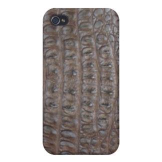 Crocodile skin case for iPhone 4