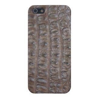 Crocodile skin iPhone 5 case