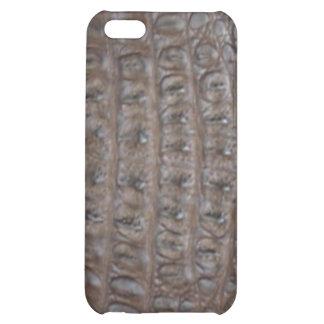 Crocodile skin cover for iPhone 5C