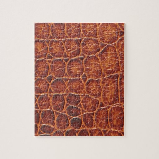 Crocodile Skin Jigsaw Puzzles