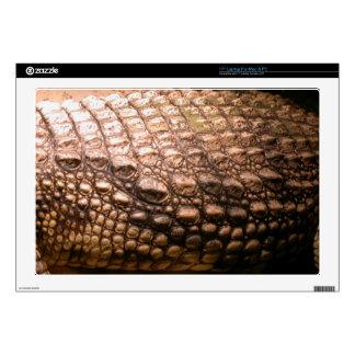 "Crocodile Skin Wildlife Amphibian Reptile Skin Skin For 17"" Laptop"