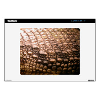 "Crocodile Skin Wildlife Amphibian Reptile Skin Decal For 12"" Laptop"