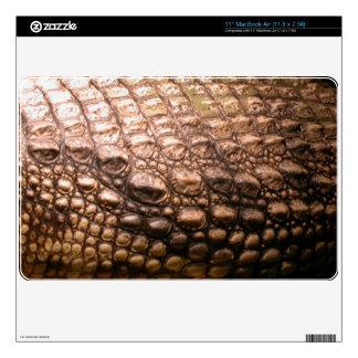 Crocodile Skin Wildlife Amphibian Reptile Skin Skin For The MacBook